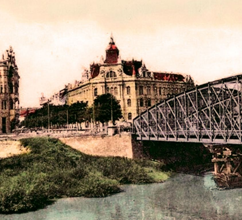 Podul de fier din Iosefin