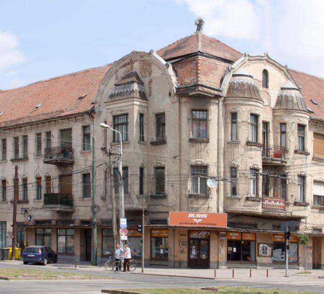Palatul Miksa (Max) Bruck, Bd. Iuliu Maniu nr. 40