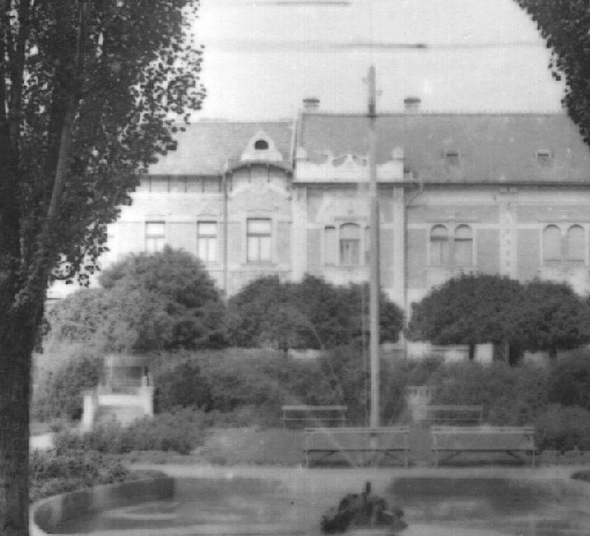 Casele de raport din piata Plevnei / parcul Ghe. Doja